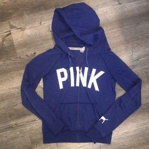 PINK Victoria Secret Zip Up Hoodie Jacket